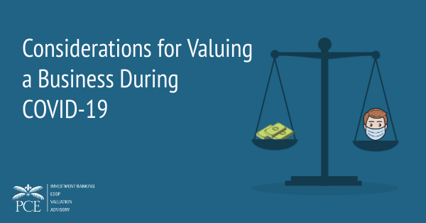 Considerations for Valuing a Business During COVID-19