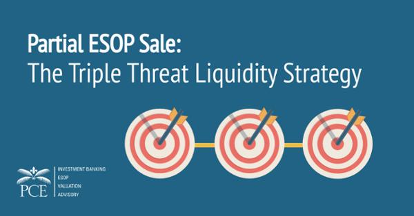 Partial ESOP Triple Threat Liquidity Strategy