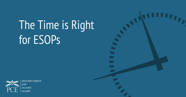 The Time is Right For ESOPs