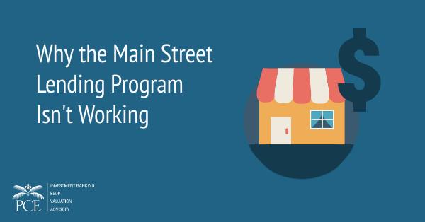 Why the Main Street Lending Program Isn't Working