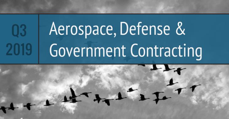 Aerospace Defense Government Q3