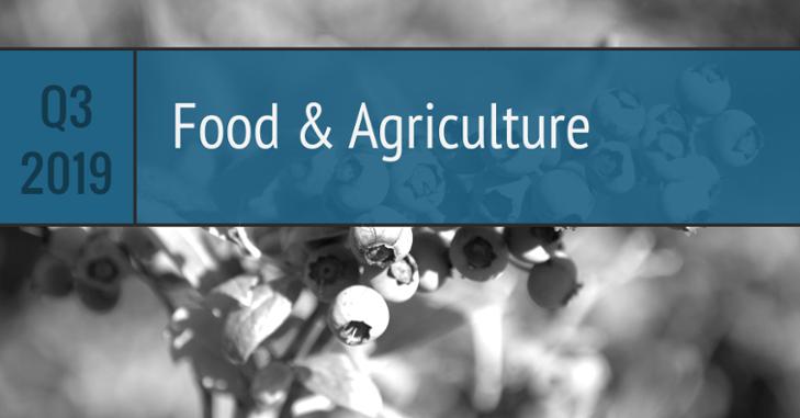 Q3 Food Agriculture