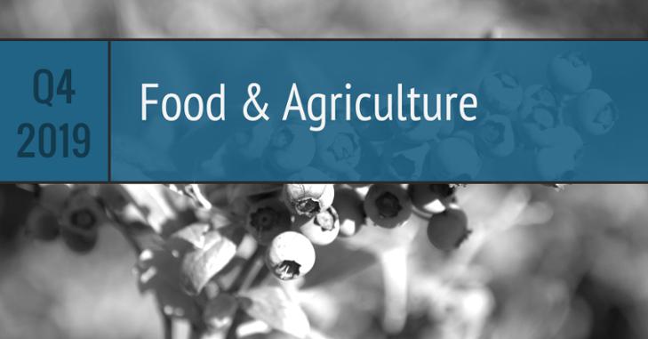 Q4 Food Agriculture