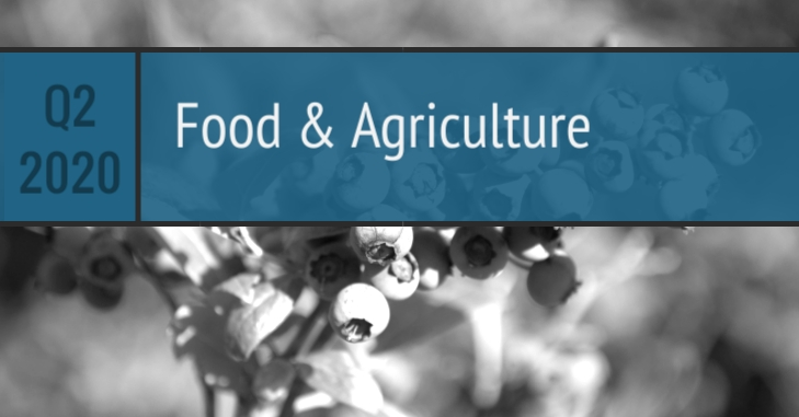 Q2 2020 Food Agriculture
