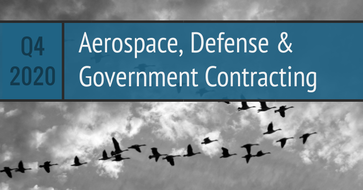 Q4 2020 Aerospace Defense Government