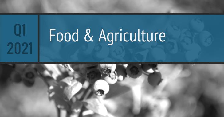 Q1 2021 Food Agriculture