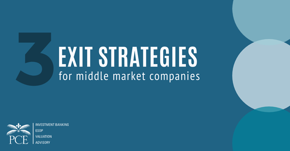 Exit Strategies for Middle Market Companies