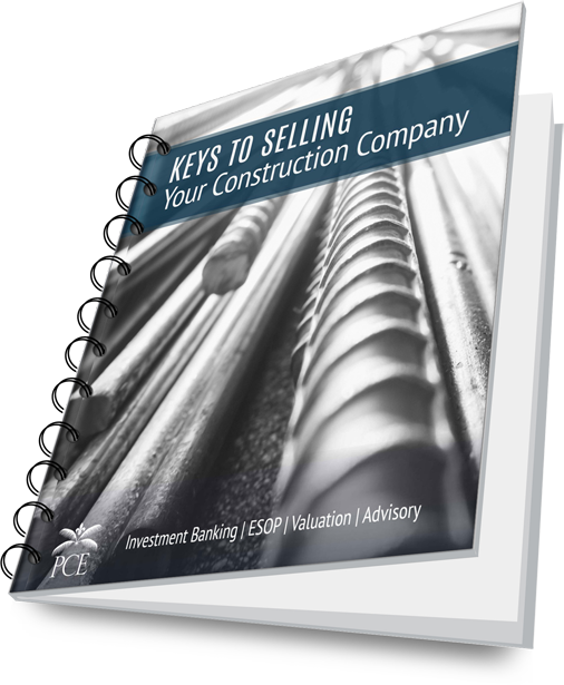 Bound Cover - Keys to Selling Your Construction Company