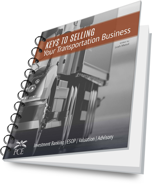 Bound Cover - Keys to Selling Your Transportation Business