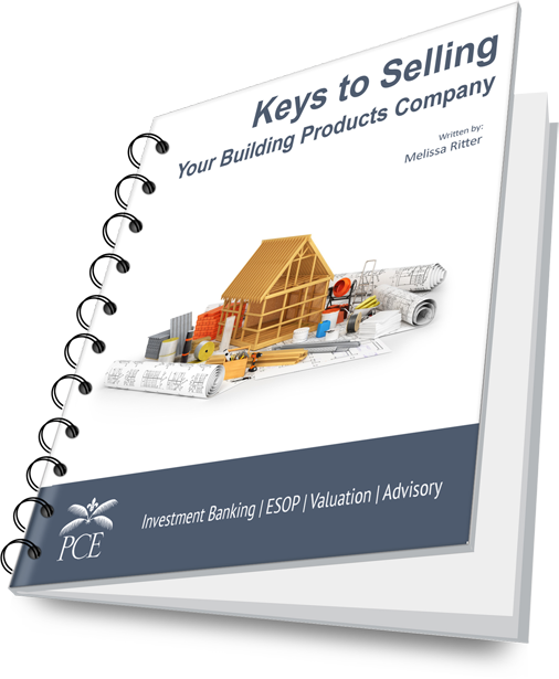 Keys to Selling Your Building Products Company - Spiral Cover