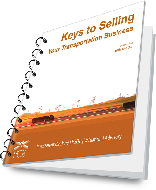 Keys to Selling Your Transportation Business - Spiral Cover
