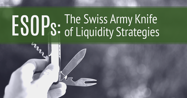 ESOPs: The Swiss Army Knife of Liquidity Strategies