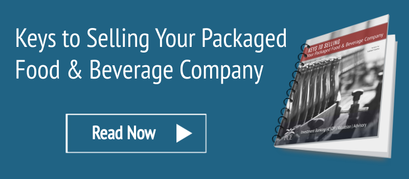 eBook- Keys to Selling Your Packaged Food & Beverage Company